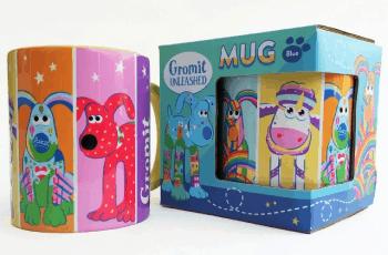 gromit unleashed mug