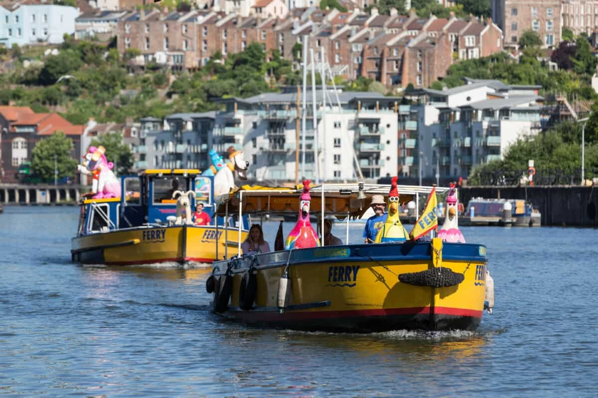 the great bristol boat chase