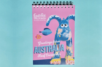 gromit unleashed the grand adventure notebook