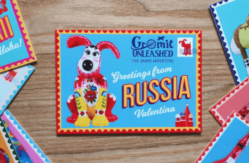 the grand adventure postcard